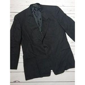 Giorgio Armani Men's Black Suit Jacket Blazer